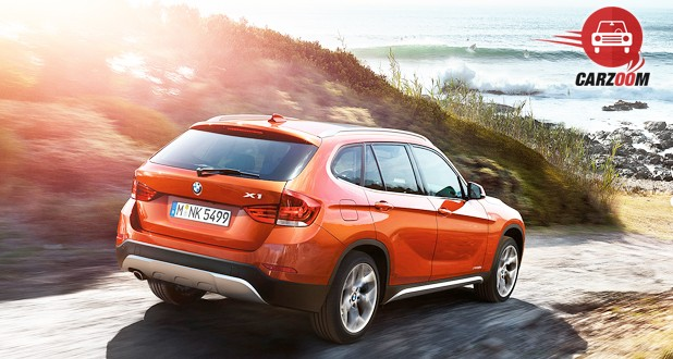 BMW X1 sDrive 20d M Sport Back and Side View