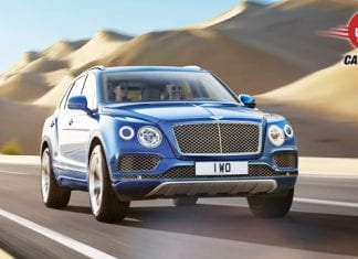 Bentley Bentayga Exterior View