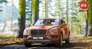 Bentley Bentayga Front View