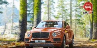 Bentley Bentayga Front View