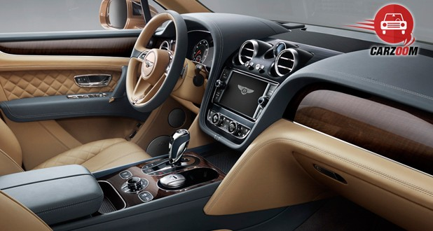 Bentley Bentayga Interior Dashboard View