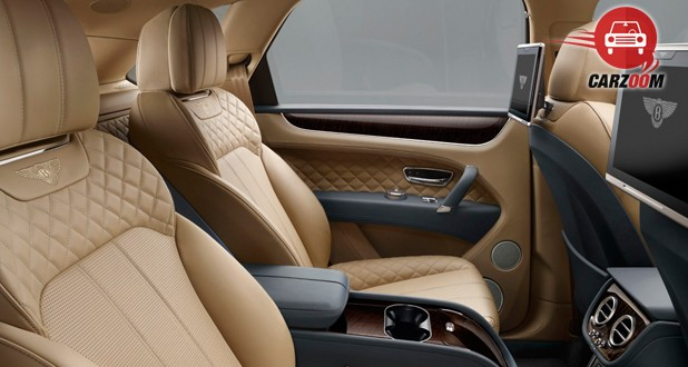 Bentley Bentayga Interior Seat View