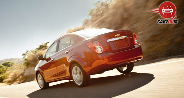 Chevrolet Sonic Back View