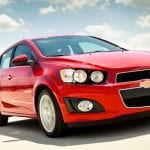 Chevrolet Sonic Exterior Front View