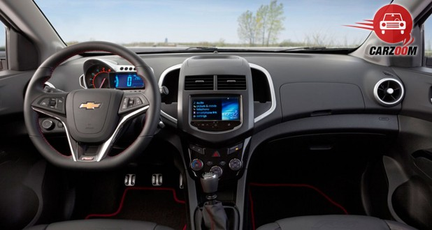 Chevrolet Sonic Interior Dashboard View
