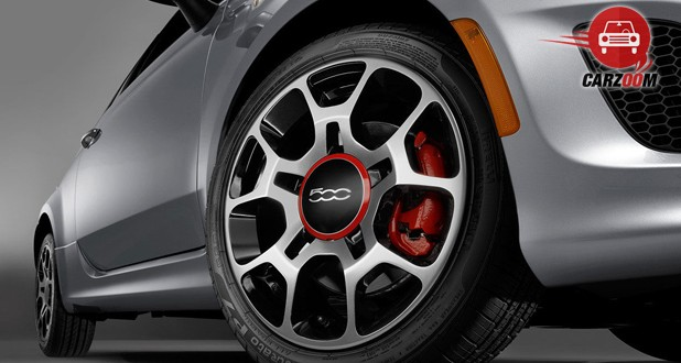 Fiat 500 Tyre View