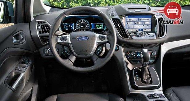 Ford C-Max Interior Dashboard View