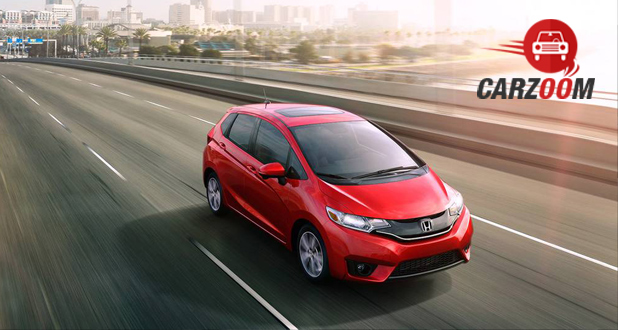 Honda Fit Front and Side View