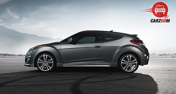 Hyundai Veloster Exterior Side View