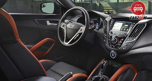 Hyundai Veloster Interior Dashboard View