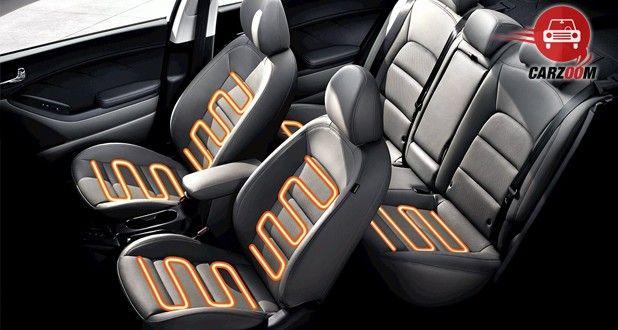 Kia Forte Interior Seat View