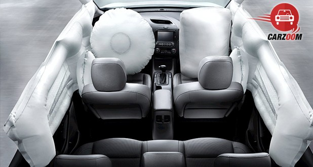 Kia Forte Top View With Airbag