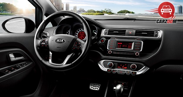 Kia Rio Interior Dashboard View