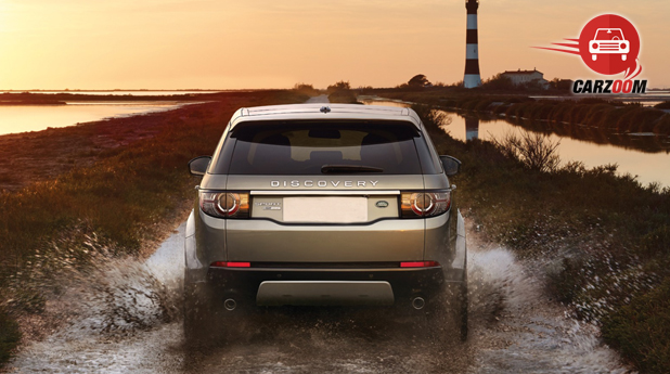 Land Rover Discovery Sport Exterior Back View