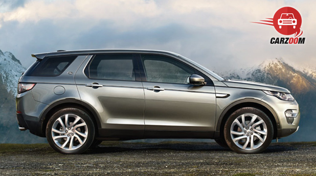 Land Rover Discovery Sport Exterior Side View