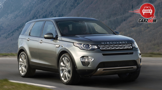 Land Rover Discovery Sport Exterior View