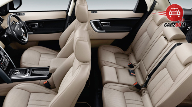 Land Rover Discovery Sport Interior Seat View