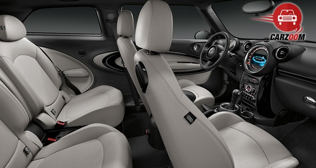 MINI Cooper Paceman Interior View