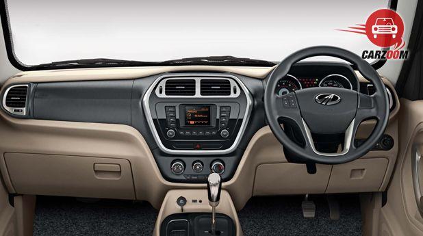 Mahindra TUV300 Interior Dashboard View