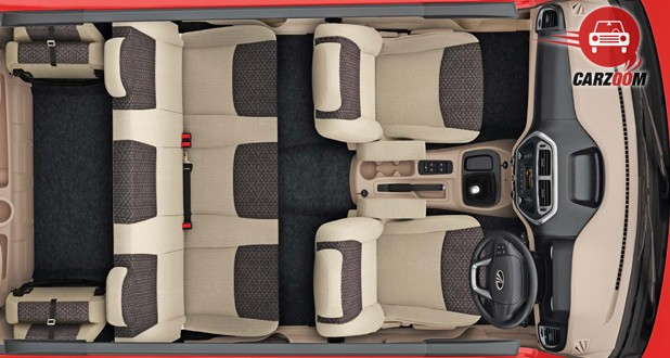 Mahindra TUV300 Interior Seat Top View