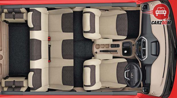 Mahindra TUV300 Interior Seat Top View