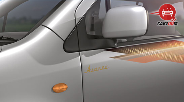 Maruti Wagon R Avance Edition Body Graphics View