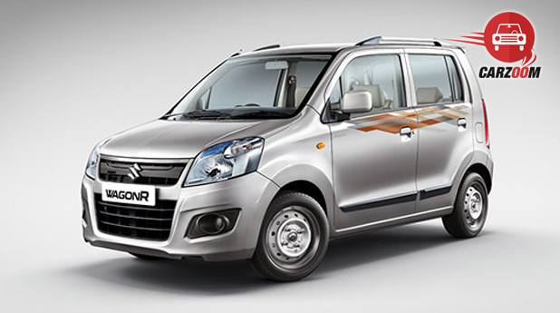 Maruti Wagon R Avance Edition Front and Side View
