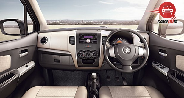 Maruti Wagon R Avance Edition Interior Dashboard View