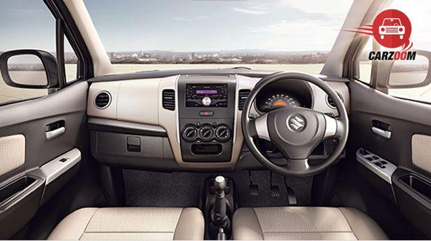 Maruti Wagon R Avance Edition Interior Dashboard View