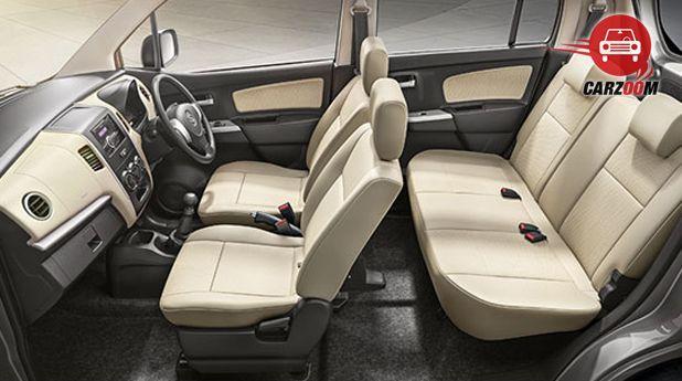 Maruti Wagon R Avance Edition Interior Seat View