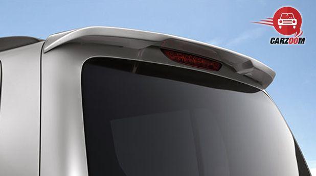 Maruti Wagon R Avance Edition Rear Spoiler View