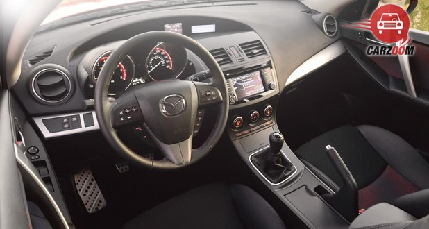 Mazdaspeed3 Interior Dashboard
