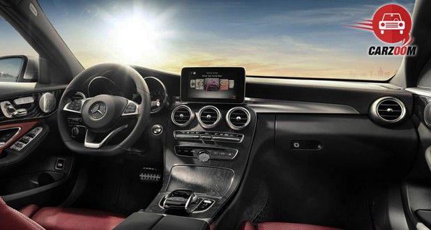 Mercedes-Benz AMG C63 S Interior Dashboard View