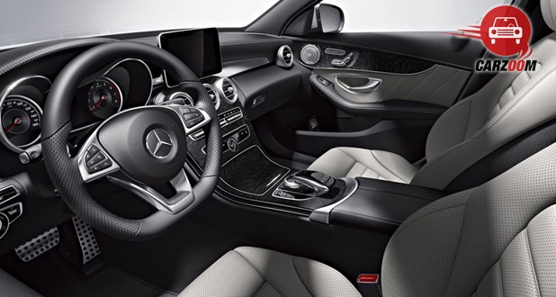 Mercedes-Benz AMG C63 S Interior Seat View