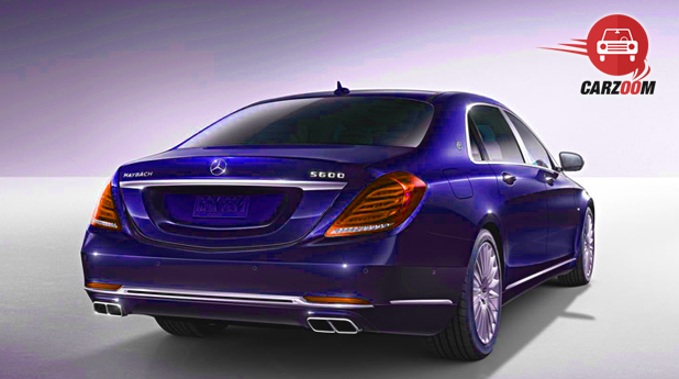 Mercedes Maybach S-Class Exterior Back View