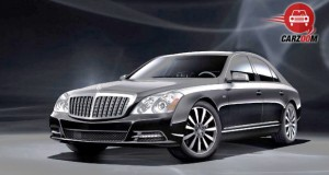 Mercedes Maybach S Class Exterior Front and Side View