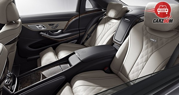 Mercedes Maybach S-Class Interior Seat View
