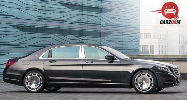 Mercedes Maybach S-Class Side View