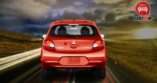 Mitsubishi Mirage Exterior Back View