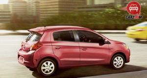 Mitsubishi Mirage Exterior Back and Side View