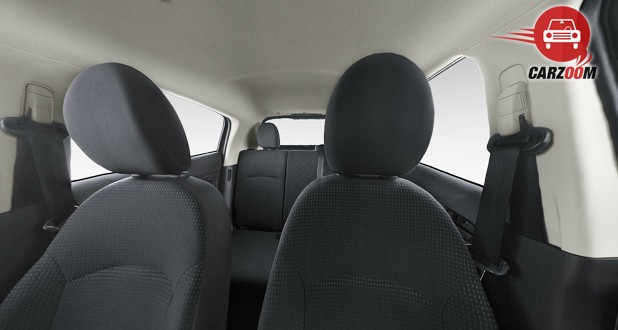 Mitsubishi Mirage Interior Seat View