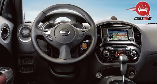 Nissan Juke Interior View