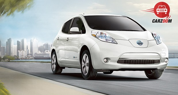 Nissan Leaf Exterior View