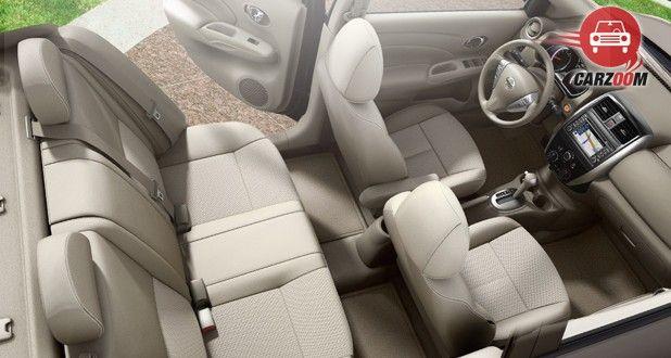 Nissan Versa Interior Seat View