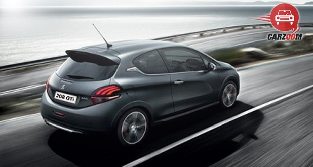 Peugeot 208 GTi Back and Side View