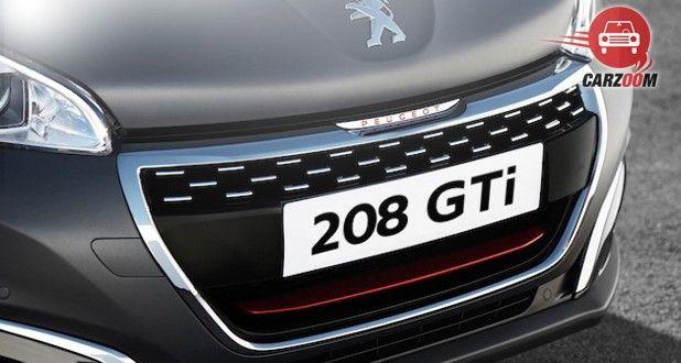 Peugeot 208 GTi Bumper View