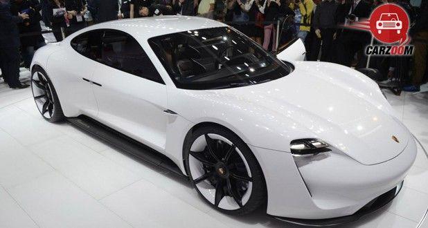 Porsche Mission E Electric 2015 Frankfurt Auto Show