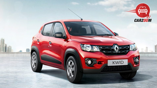 Renault KWID Exterior Front and Side view
