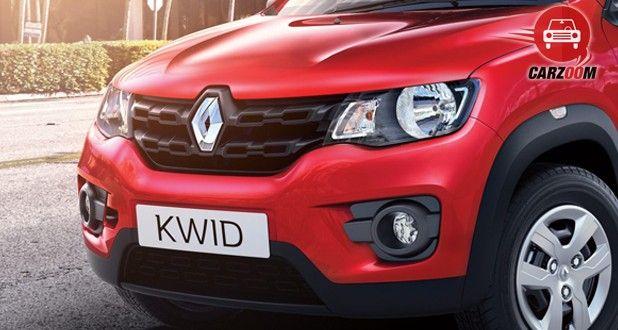 Renault KWID Front Bumper View