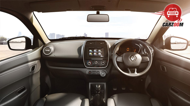 Renault KWID Interior Dashboard View